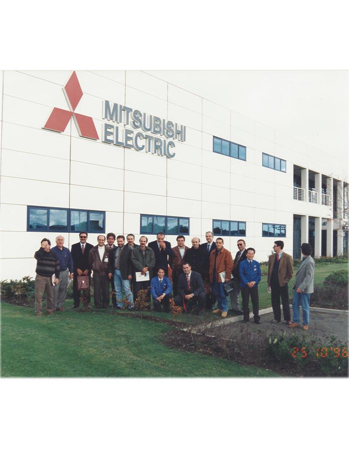 Επίσκεψη στη Mitsubishi Electric
