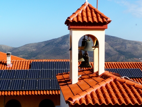 Monastery of Holy Protection  Keratea 10.0kWp