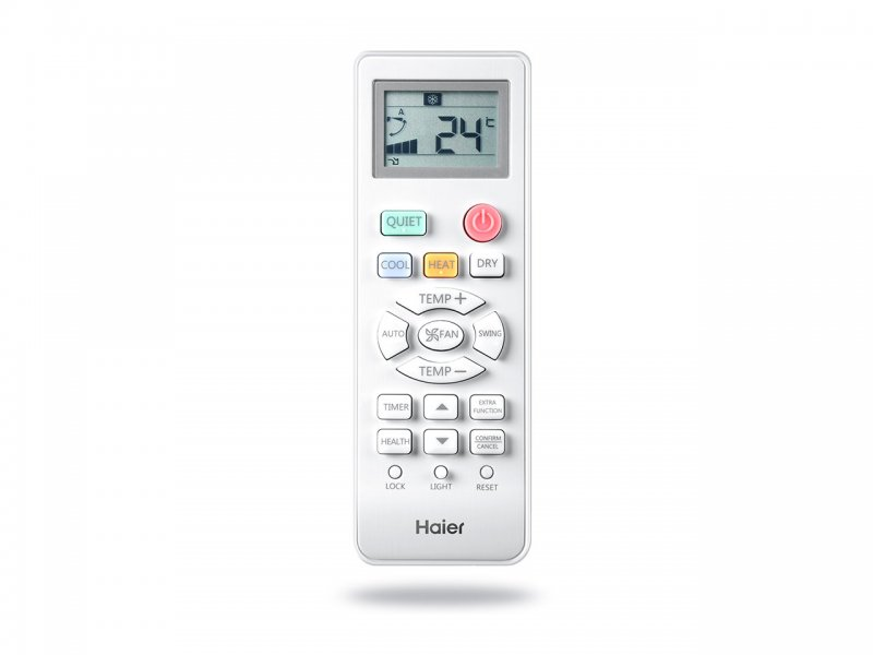 haier-tundra-green-remote