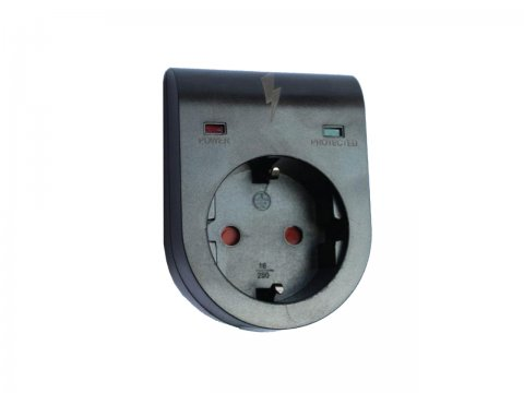 Socket with surge protection TELCO PA-GE3A-01SD