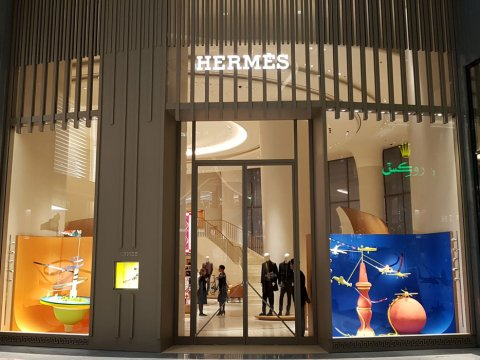 Hermes Store in Dubai Mall